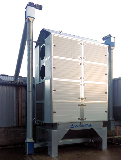 Woodtek wood chip dryer